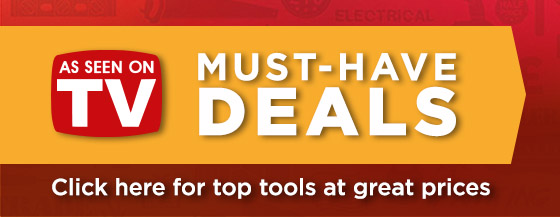 Must have Deals - Click here for top tools at great prices