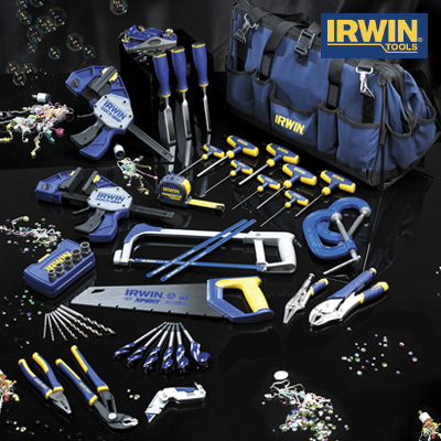 Irwin 45 Piece Professional Toolkit in a Heavy-Duty Work Bag